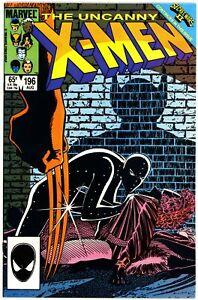 Uncanny X-Men (1981) #196 NM- Secret Wars II