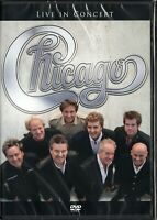 Chicago DVD Live In Concert Brand New Sealed