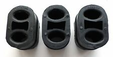 3 x Saab 9-3 9-5 Rubber Exhaust Mount Silencer Hanger Support Heavy Duty