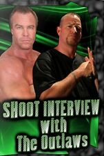 The New Age Outlaws Shoot Interview Wrestling DVD,  WWF WWE Billy Gunn Road Dogg