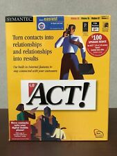 Rare! Brand New In The Box Act! 4.0 Software