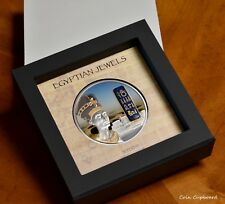 2012 - FIJI $50 - 1st Egyptian Jewels collection - Nefertiti - 65 mm 2 oz.silver