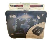 2008 Anakin And Obi Wan Nintendo DS Lite On The Go Lunchbox Tin Starter Kit