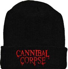 Cannibal Corpse Wool Hat Black Beanie Knit Death Metal Band Paul Mazurkiewicz