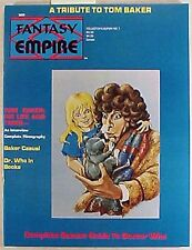 Set of 5 FANTASY EMPIRE COLL ED #1-5 Magazine-UK TV Fanzine