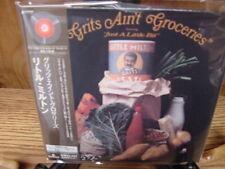 LITTLE MILTON NO GRITS NO GROCERIES JAPAN REPLICA AUDIOPHILE RARE OBI CD