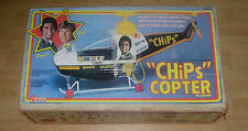 EMPIRE  CHIPS  COPTER  HELICOPTER  1980  BOXED  PONCH AND JOHN  TV