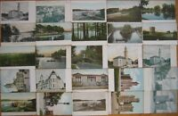 Group of Twenty-Five 1905 Postcards: Worcester, Mass MA