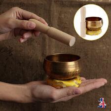 More details for chakra healing tibetan singing bowl set hand hammered yoga meditation 8cm uk ♡