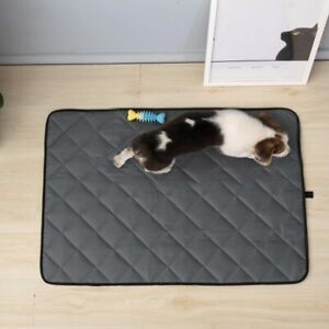 Waterproof Dog Cage Mat Chew Resistant Mattress Outdoor Crate Bed Pad Non Slip