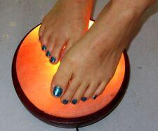 "HIMALAYAN SALT DETOX DOME FOOT/body THERAPY LAMP High diameter 8"" And 14lb"