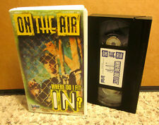 ON THE AIR Where Do I Fit In VHS teen series Neil McClendon lecture Christian