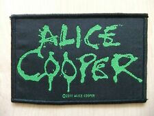 Alice Cooper Logo Aufnäher Patch Kiss Aerosmith Twisted Sister Whitesnake UFO