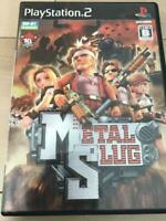 PS2 Metal Slug SNK Playmore Sony PlayStation 2 Game Software Japan Import