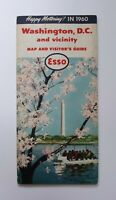 1960 Esso Washington DC Map & Visitor's Guide