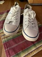 SUPERDRY WHITE TRAINERS CANVAS SIZE UK 9