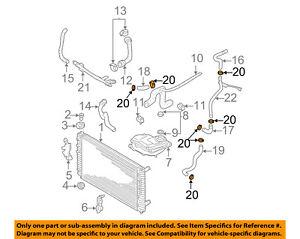 VW VOLKSWAGEN OEM 05-14 Jetta 2.5L-L5 Cooling-Reservoir Hose Clamp N90686902