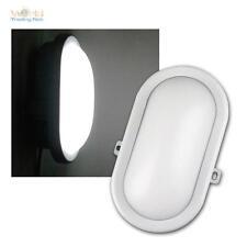 LED Feuchtraum-Leuchte Oval weiß 10W 700lm Kellerlampe Kellerleuchte Nassraum