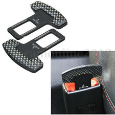 Universal Alloy Seat Belt Buckle Car Safety Alarm Stopper Null Insert Clip Clasp