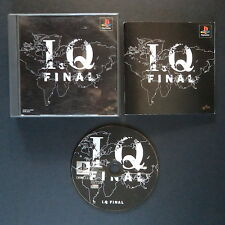 INTELLIGENT QUBE FINAL PlayStation NTSC JAPAN・❀・PUZZLE IQ KURUSHI PS1 PSX アイキュー