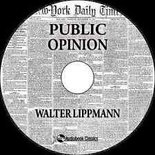 Public Opinion - Unabridged MP3 CD Audiobook in paper sleeve