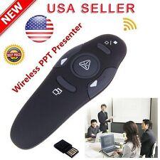 2.4GHz Wireless Presenter USB Remote Control Presentation Mouse Laser Pointer US