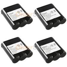 4x Cordless Home Phone Battery for Panasonic CPB-487 P-P511 ER-P511 HHR-P402