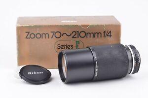 EXC++ NIKON SERIES E 70-210mm F4 ZOOM LENS, CAPS, BOXED, VERY CLEAN