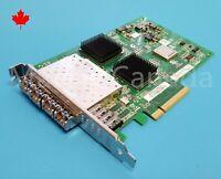 QLOGIC QLE2564 Dell 45GPC Quad 4-Port 8Gb Fibre Adapter FC HBA w/ Transceivers