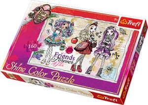 Shine color Puzzle, Friends forever, 160 Teile