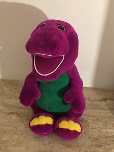 "Barney Dinosaur Jumbo Plush 26"" Tall Soft"
