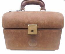 BEAUTY CASE Sergio Tacchini in pelle marrone - Beauty brown leather case