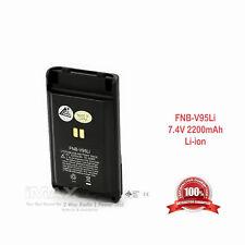 FNBV96LI/95LI Battery 2200mA for YAESU VERTEX VX350 VX351V VX354U VX352U VX354V