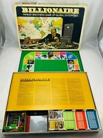 1973 Billionaire Game by Parker Brothers Complete in Good Condition FREE SHIP