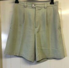Greg Norman Size 10 Light Beige Play Dry Moisture Wick Womens Golf Shorts # 915