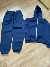Boys/Girls Jog Suit age 9-10 years- Navy