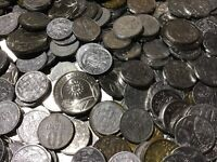 100 Gramm Restmünzen/Umlaufmünzen Moldavien
