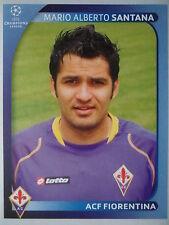 PANINI 293 Mario Alberto Santana ACF FIORENTINA UEFA CL 2008/09