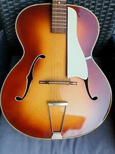 Alte Musima Gitarre Jazzgitarre Archtop Guitar Schlaggitarre 70er