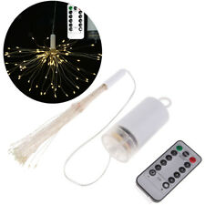Starburst Light LED Fireworks Lamp w/ 100Leds, Battery Operated, Warm White