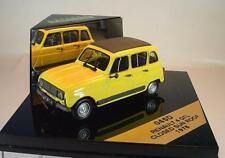 Vitesse 1/43 Renault 4 GTL closed Sun Roof gelb (1978) in Plexi-Box #2222