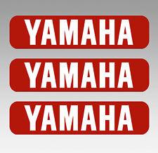 YAMAHA Motorrad Tank 3 Aufkleber 3 Stickers Größe 148 x 35 mm cafe racer bobber