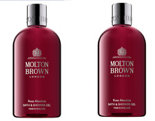 Molton Brown Rosa Absolute Bath Shower Gel 2 x 300 ml Brand New