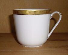 Arzberg  1 Kaffeetasse weiß, Goldrand
