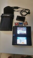 NINTENDO DSI BUNDLE WITH 4 GAMES CHARGER CONSOLE CASE & GAME CASE SEE PIC'S