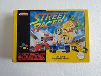 Street Racer - Super Nintendo SNES game - [CIB PAL EUR] boxed/manual