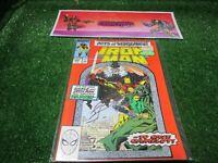 vtg invincible Iron Man 250 Marvel Comic book 1st print hi res pics