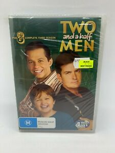 TWO AND A HALF MEN  - THE COMPLETE  THIRD  SEASON  - 4 DISC SET