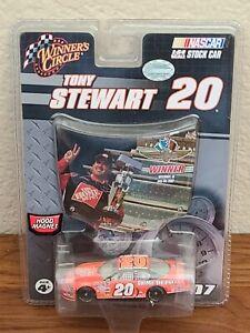 2007 #20 Tony Stewart Home Depot Brickyard 400 Indy Indianapolis Win 1/64 NASCAR