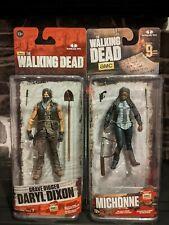 The Walking Dead Bundle Grave Digger Daryl Dixon & Michonne McFarlane Toys